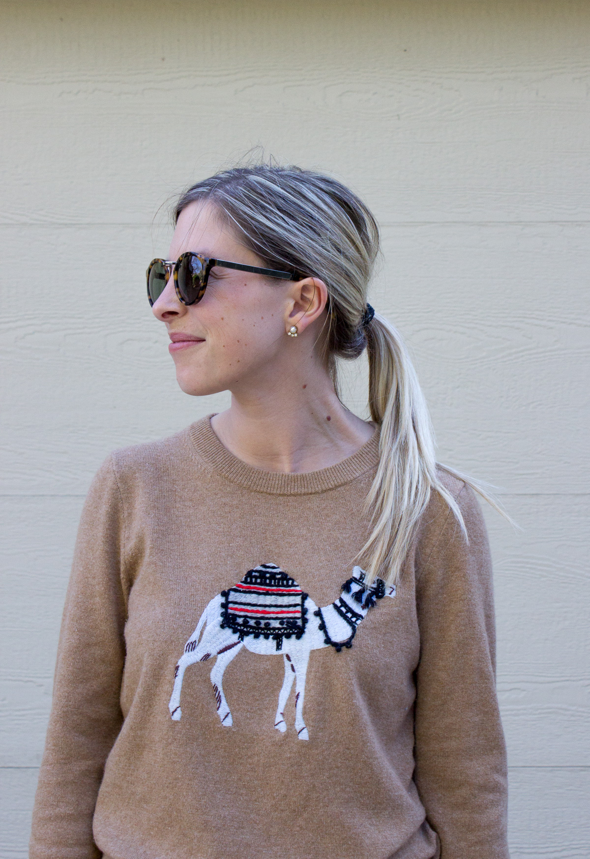 J.Crew Camel Sweater