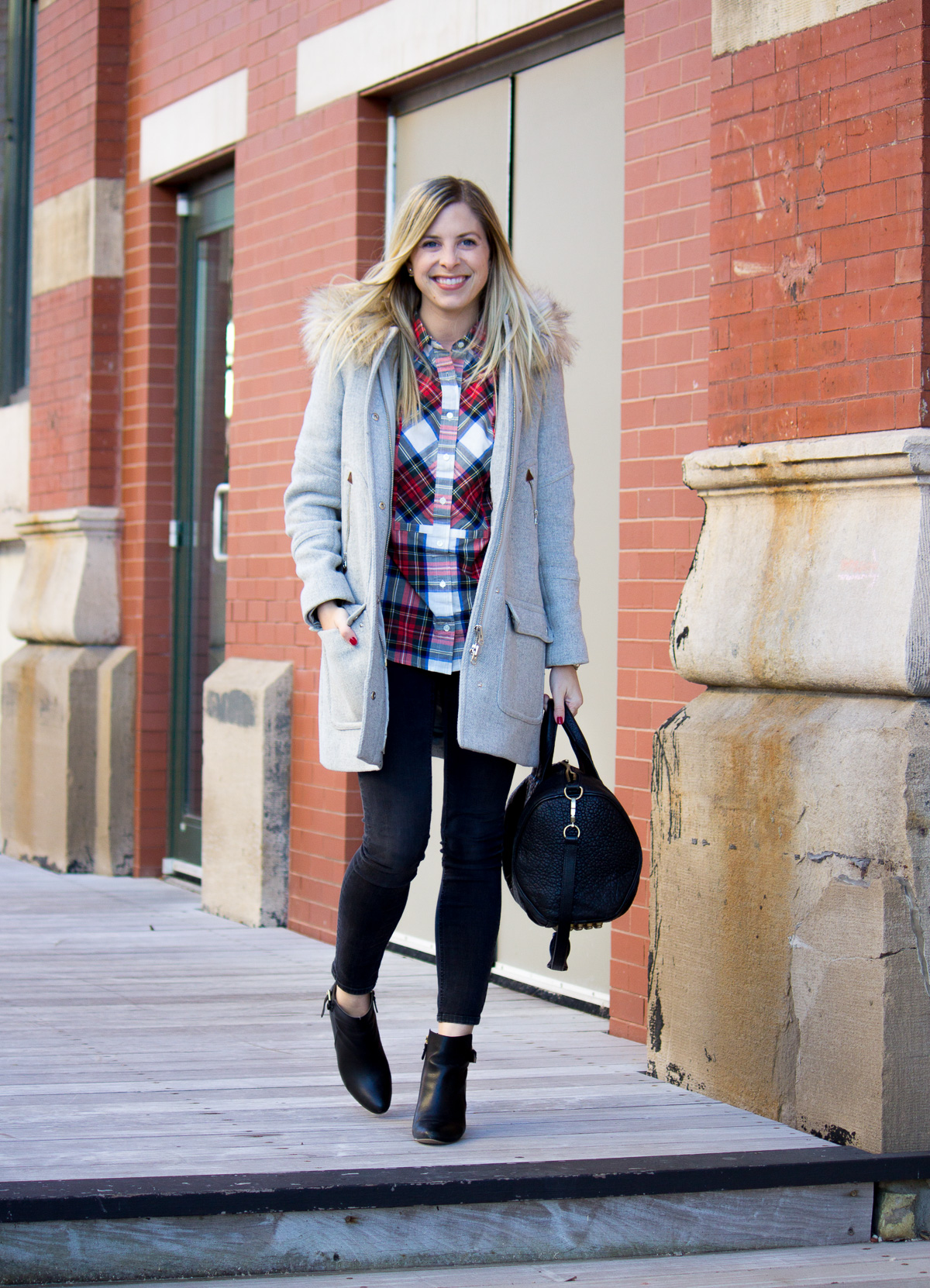 Cozy Plaid for the Holidays