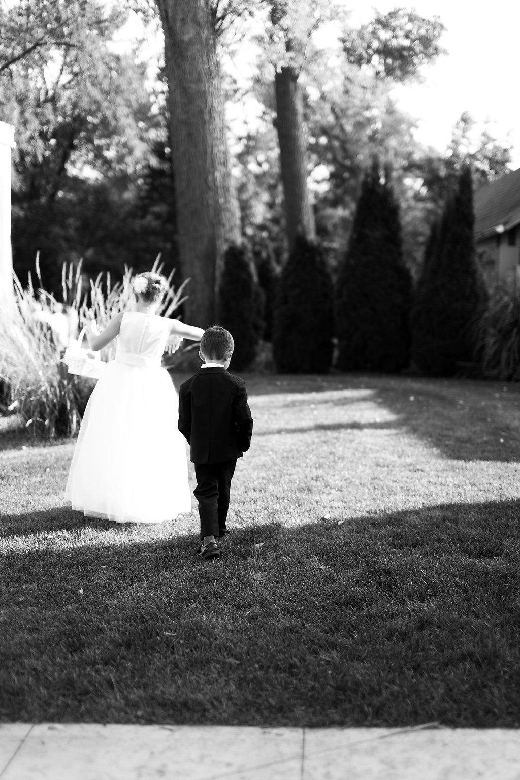 Wisconsin Outdoor Wedding Ceremony