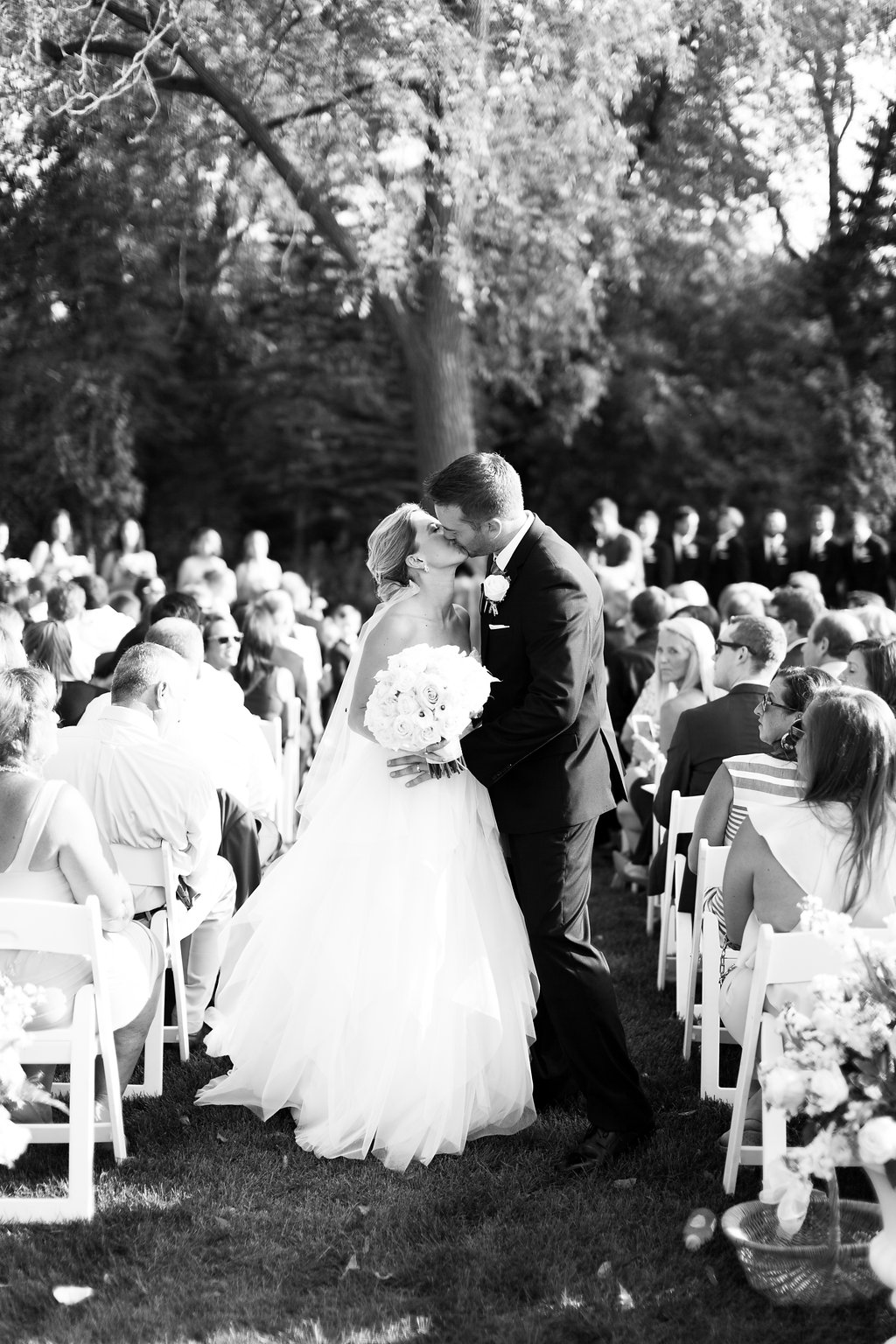 Wisconsin Outdoor Wedding Ceremony