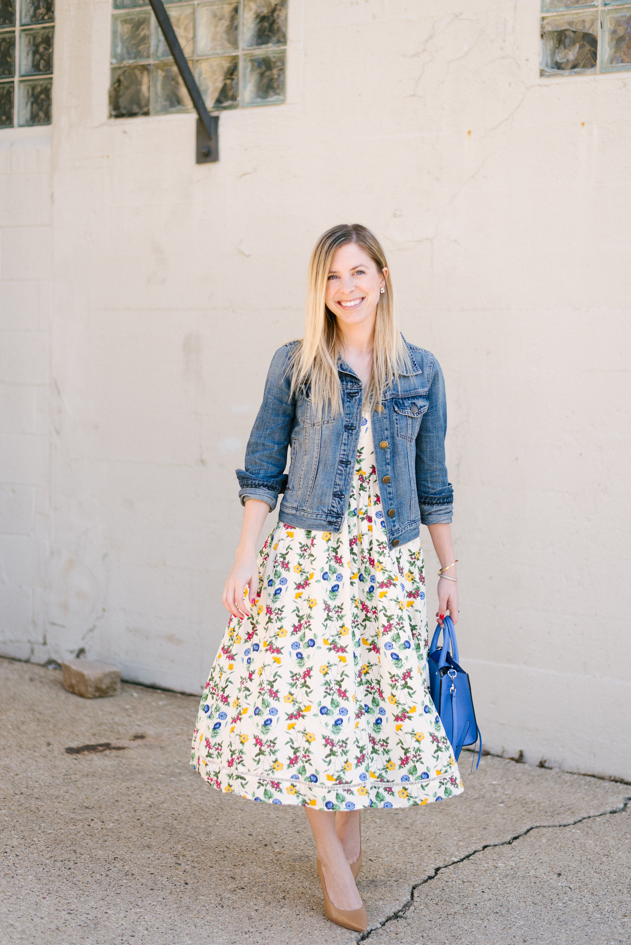 Old Navy Floral Midi Dress