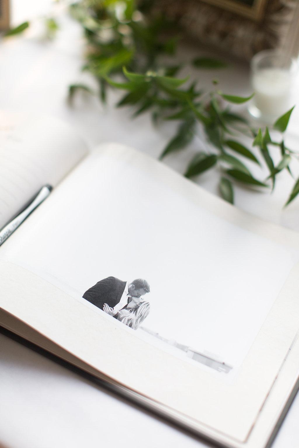 Outdoor Wedding Guest Book
