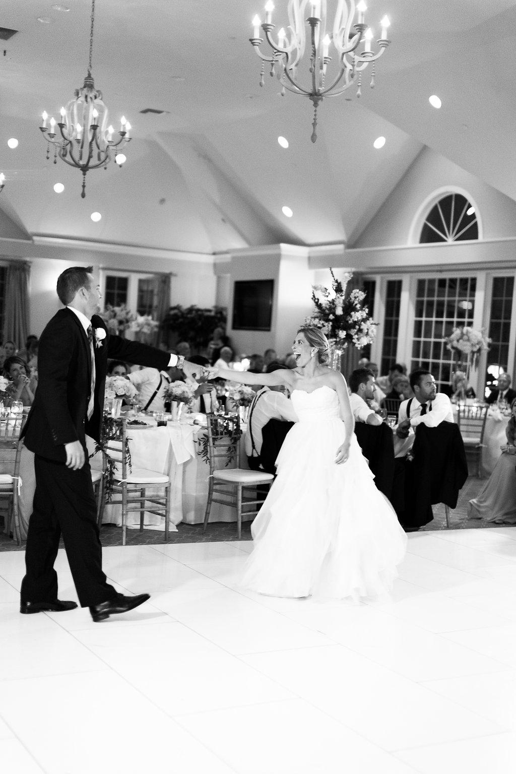 Wisconsin Wedding Reception First Dance