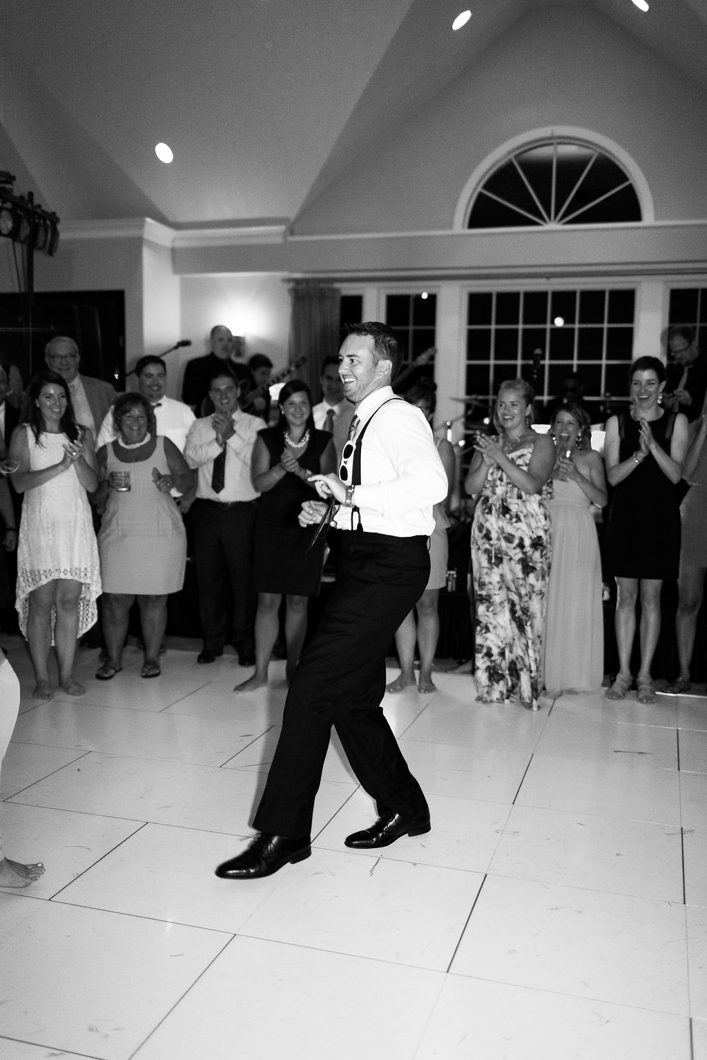 Irish Dancing at Wisconsin Wedding Reception