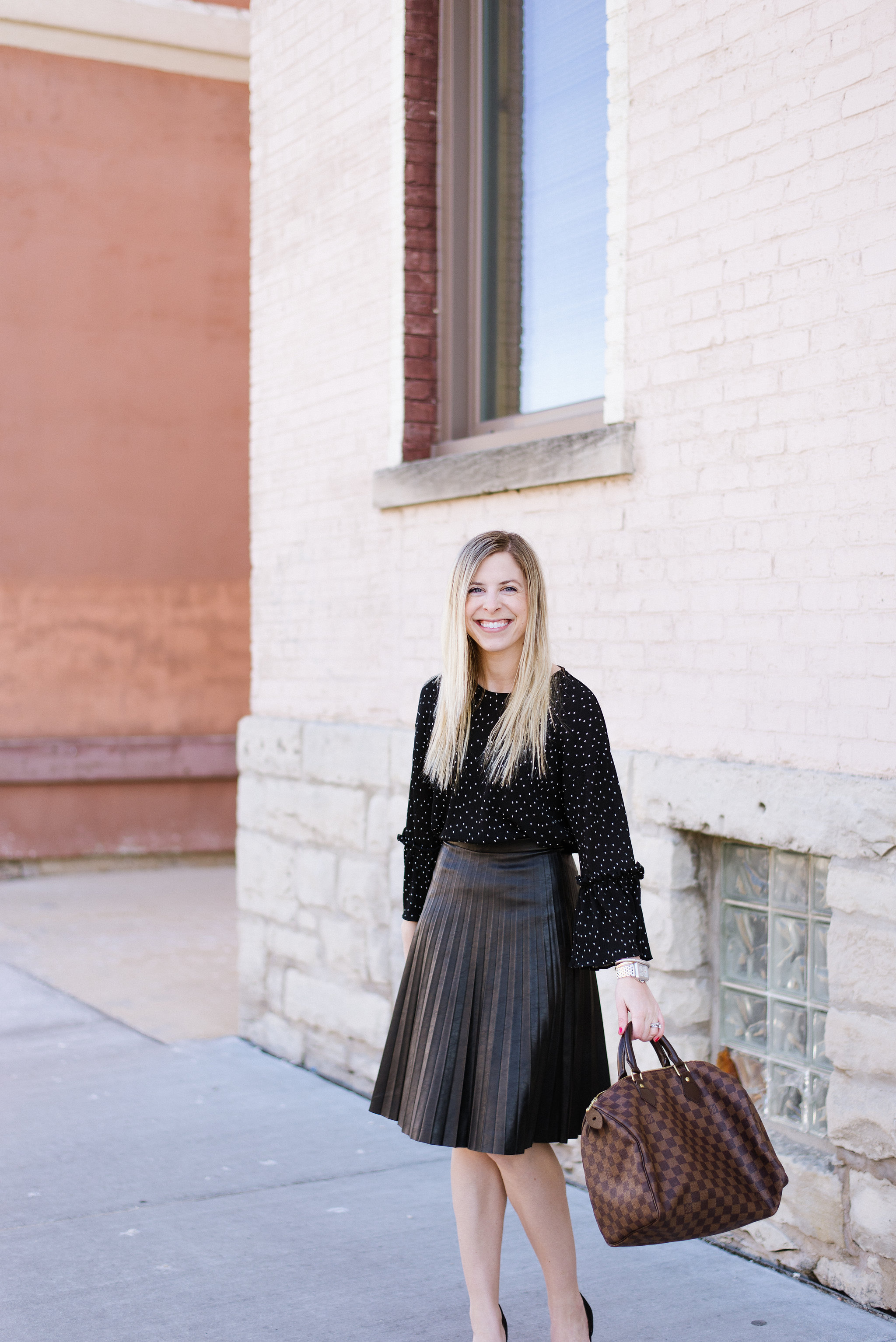 J.Crew Pleated Midi Skirt