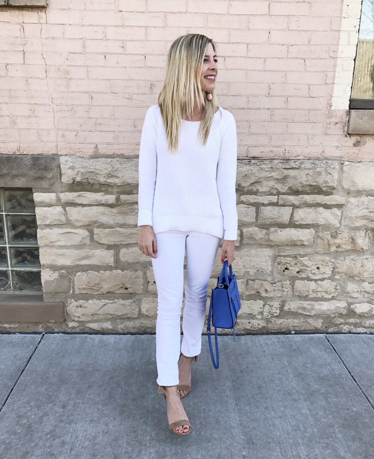 The Perfect White Denim