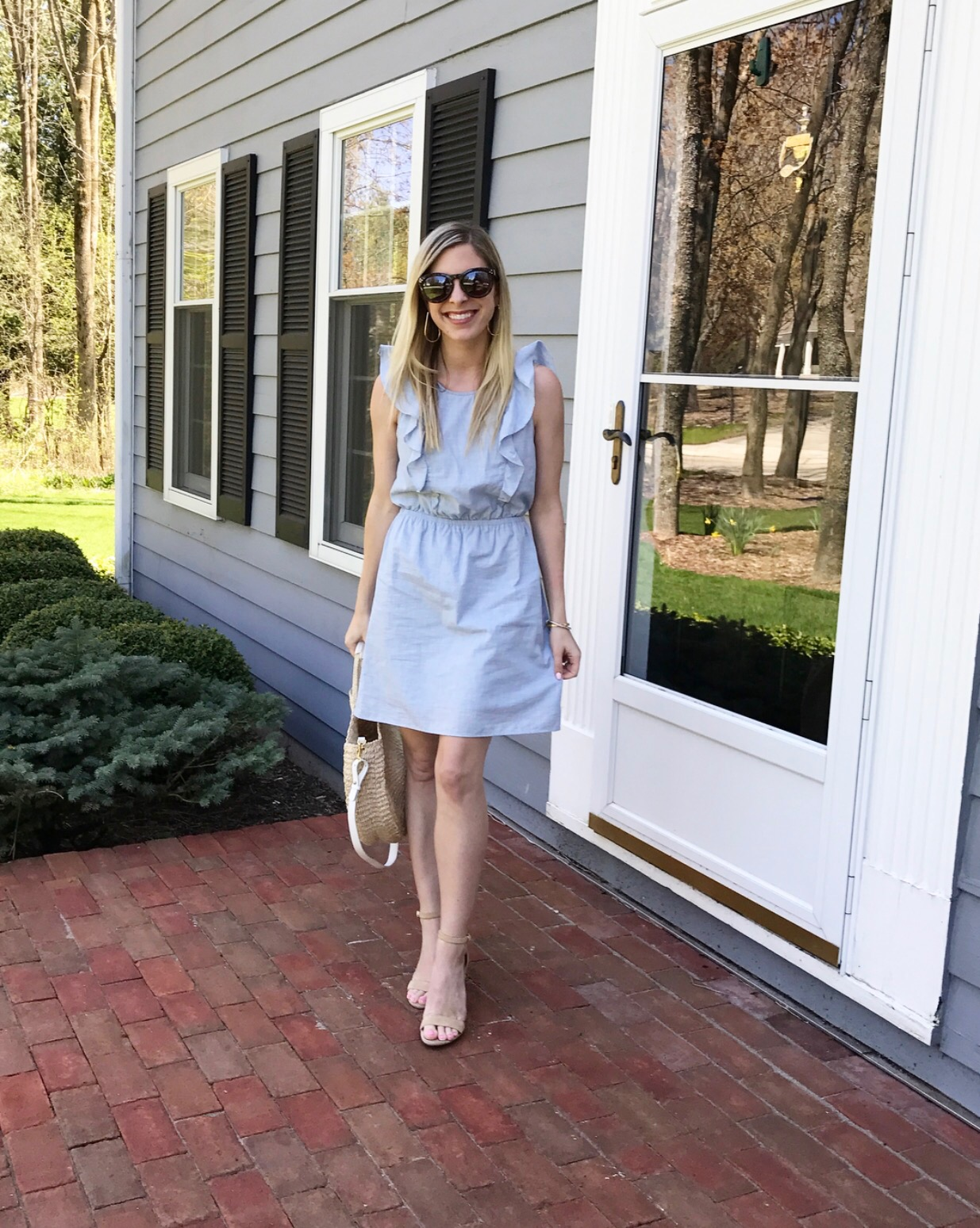 Madewell Ruffle Dress