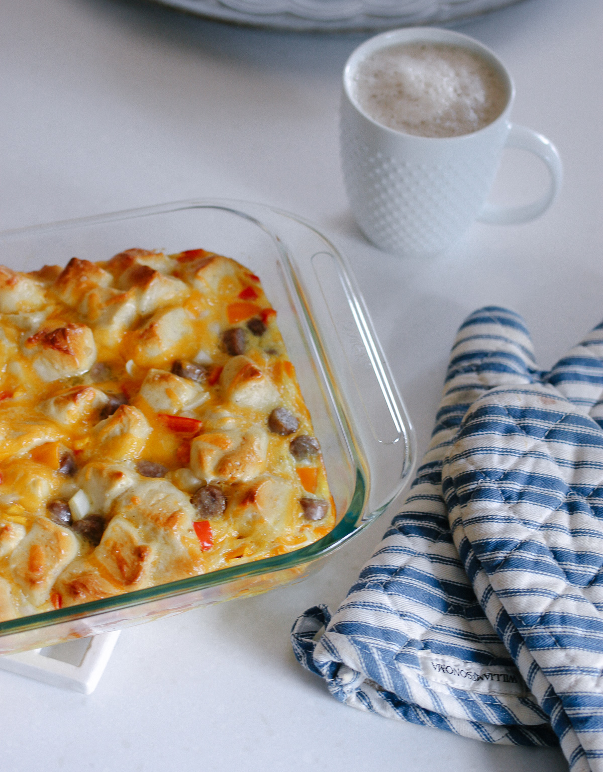 Overnight Breakfast Egg Bake