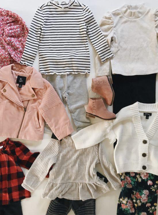 Toddler girl fall clothes