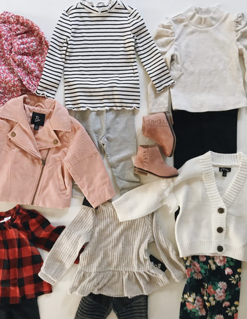Toddler Girl's Fall Wardrobe
